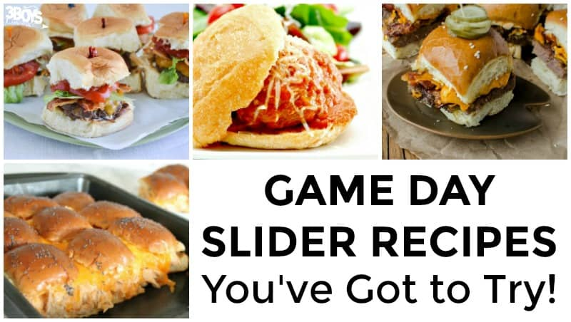Game Day Slider Recipes to Try
