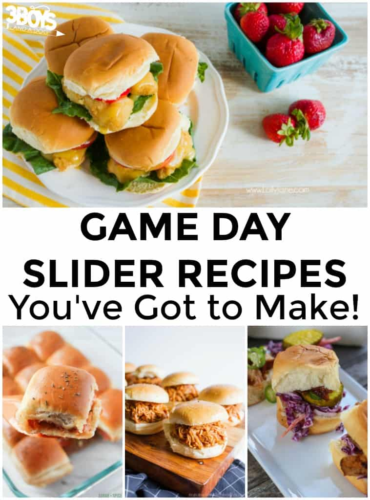 Game Day Slider Recipes