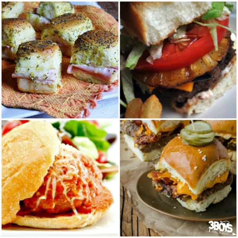 Game Day Sliders Recipes You'll Love