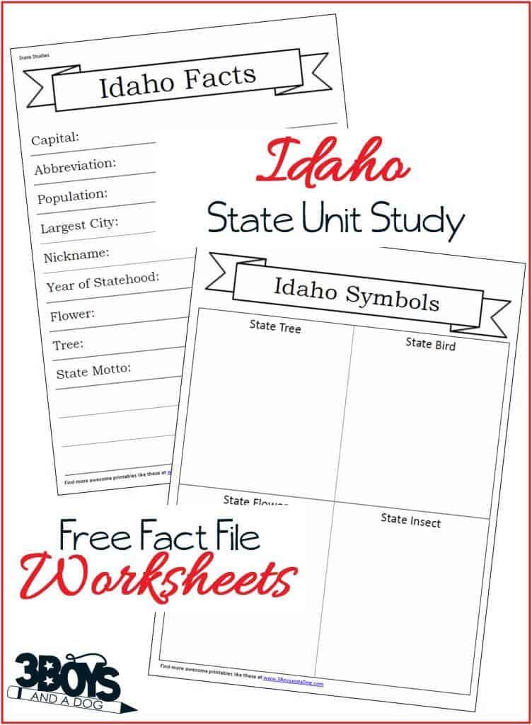 Idaho State Fact Files