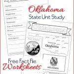 Oklahoma State Fact File Worksheets