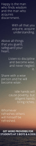 Proverbs for Students - inspirational quotes