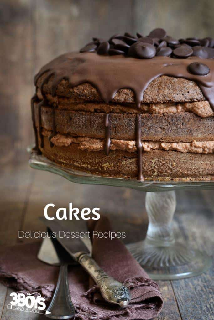 decadent cake recipes to make for dessert
