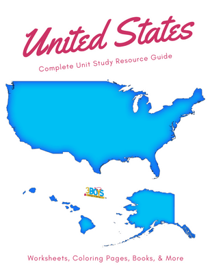 All 50 United States Unit Study Activities for Children =