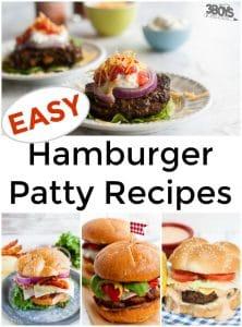 Easy Hamburger Patty Recipes