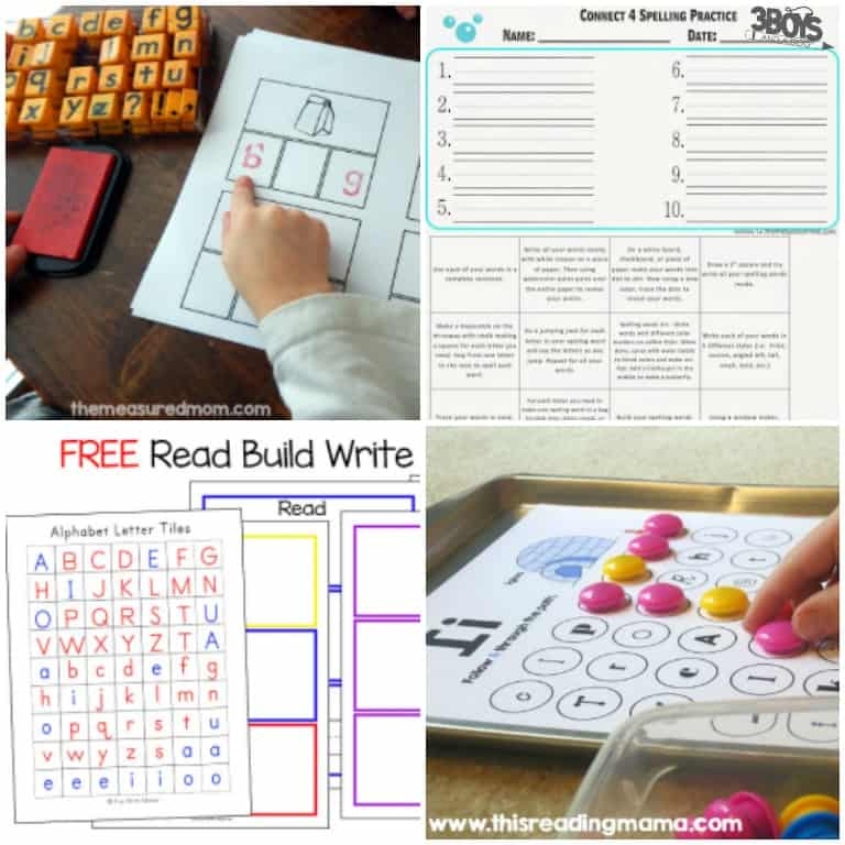 Free Spelling Worksheet Makers and Activities for Kids