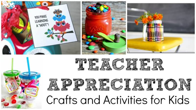 Fun Teacher Appreciation Kid Activities