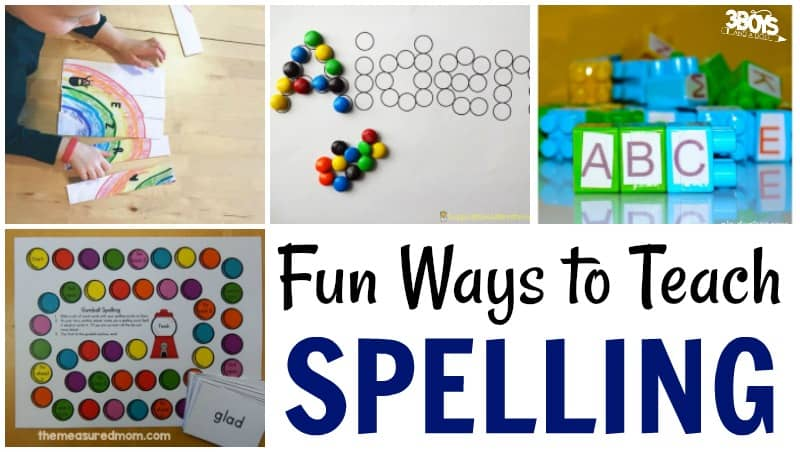 How to Teach Spelling to Kids