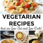 Low Fat Low Carb Vegetarian Recipes