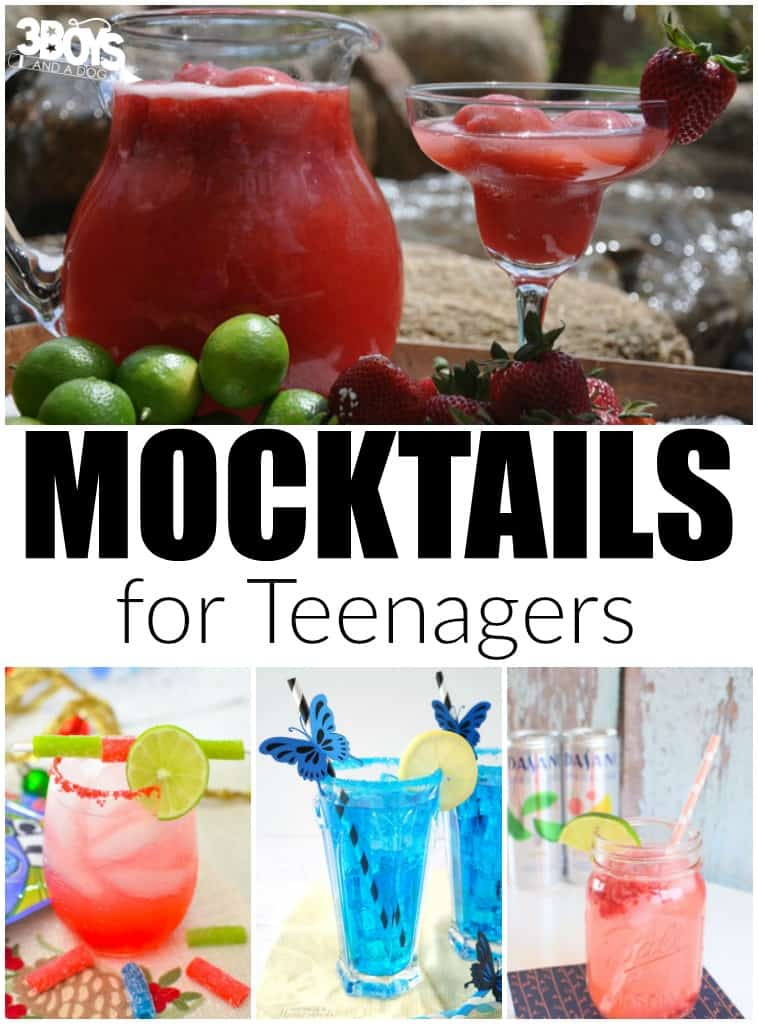 Mocktails Recipes for Teenagers