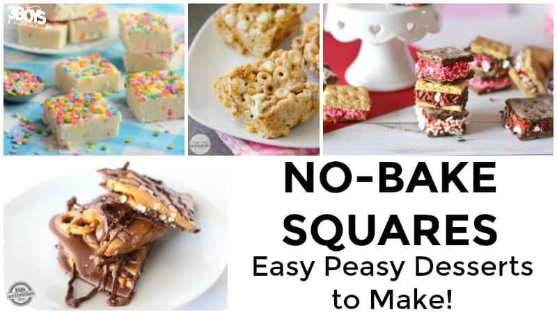 No Bake Squares Recipes to Try