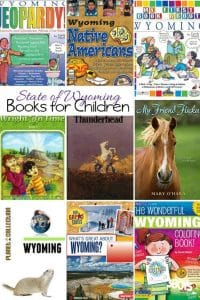 State of Wyoming Books for Children