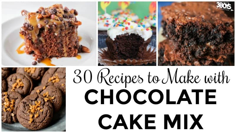 30 Chocolate Cake Mix Recipes