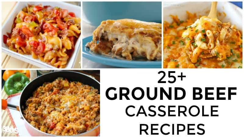 Hamburger Meat Casserole Recipes to Try