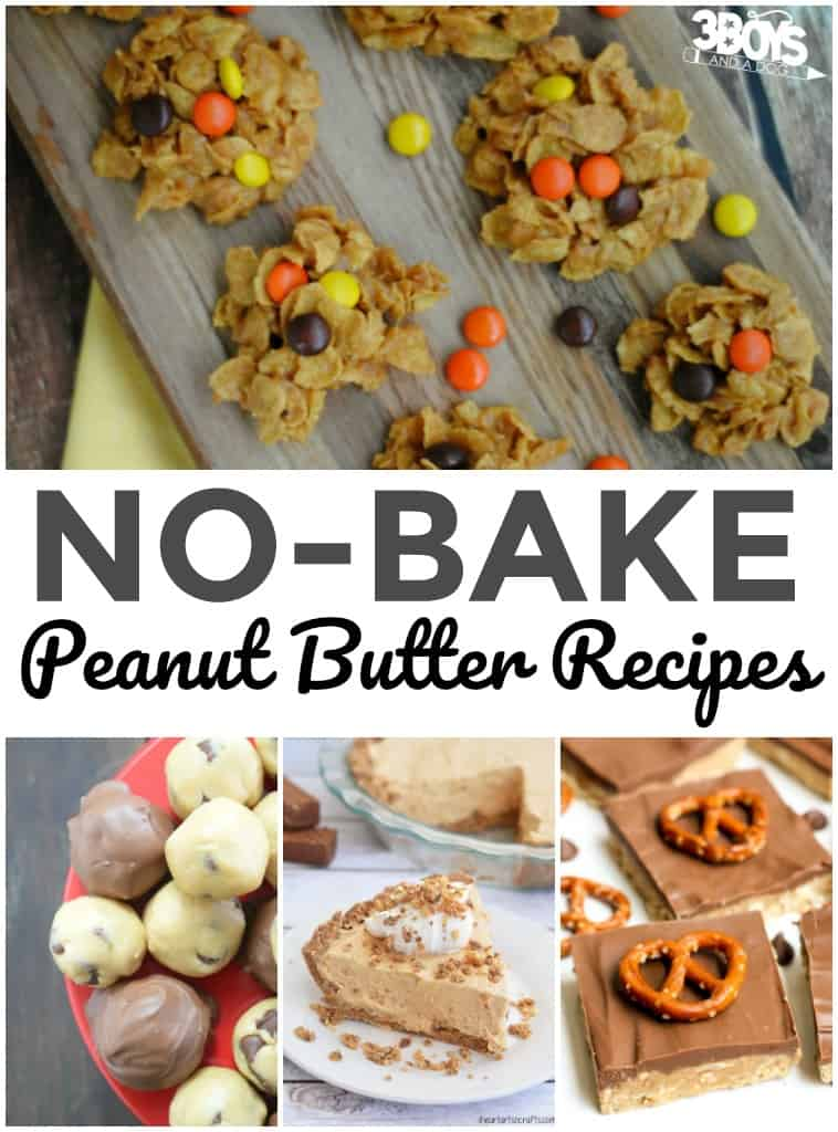 No Bake Recipes with Peanut Butter