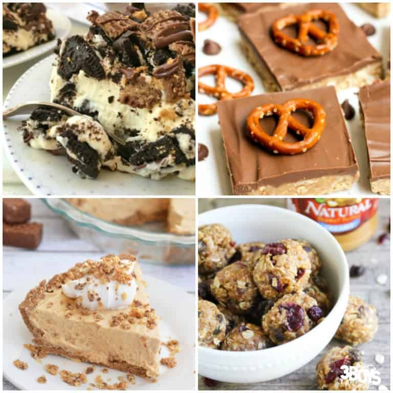 Simple No Bake Recipes with Peanut Butter
