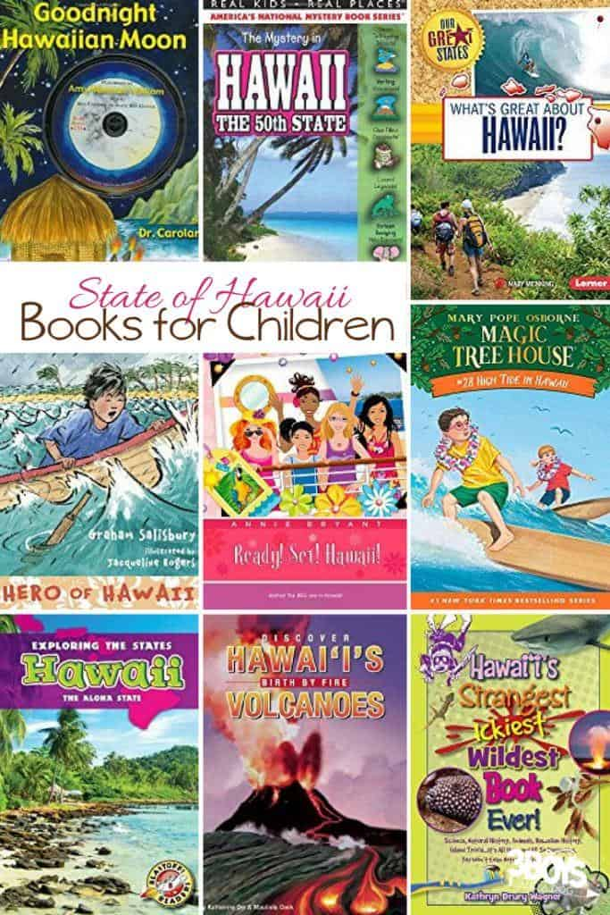 Hawaii State Books for Kids