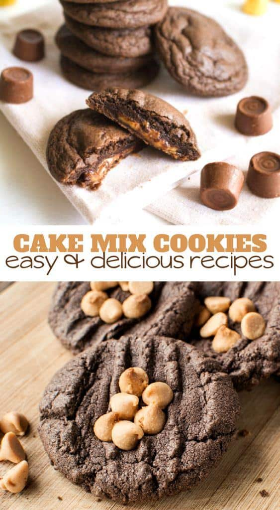 cake mix cookies - easy and delicious recipes