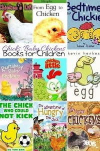 Books About Baby Chicks for Kids {Farm Animals Unit Study}
