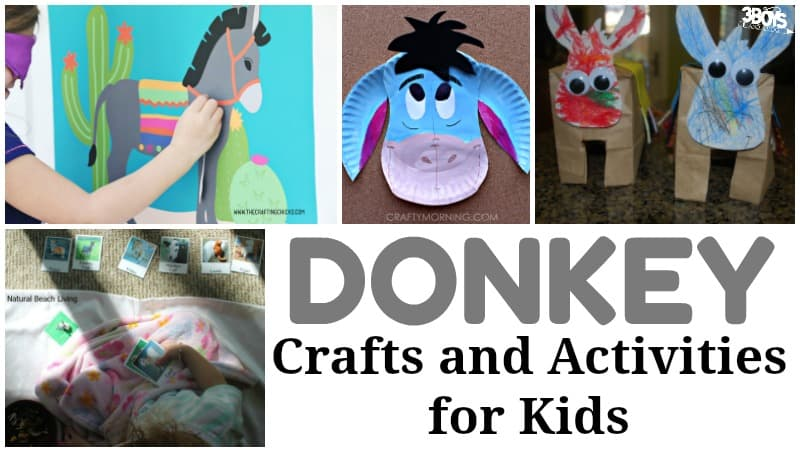 Donkey Crafts and Activities