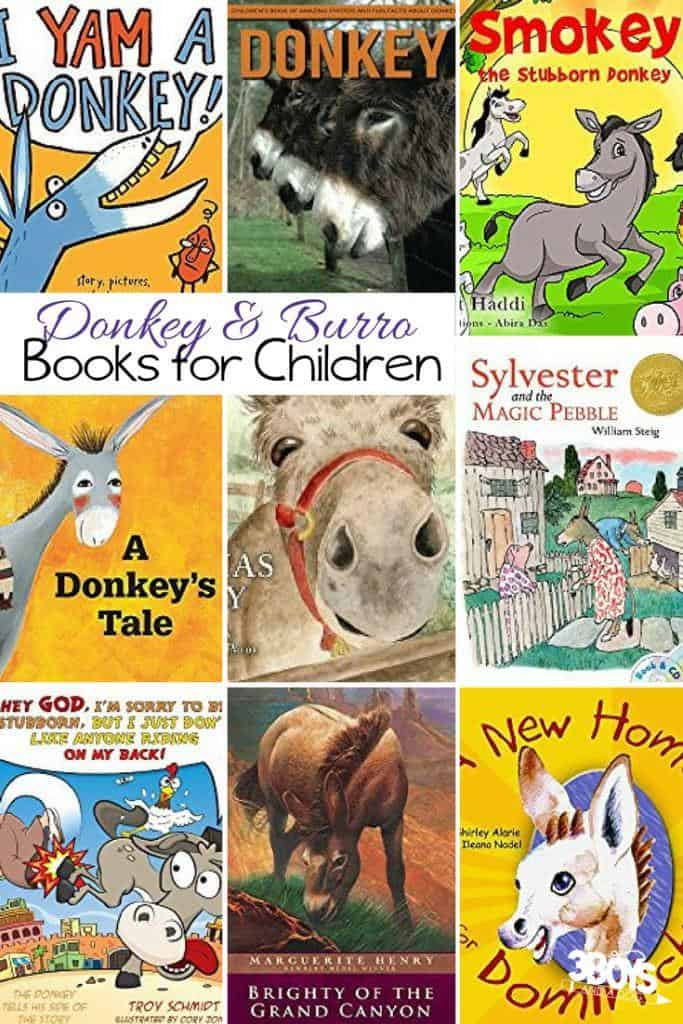 From cute stories to education, these Donkey at the Farm Books for Kids are sure to help you as you and your children learn about these smart farm animals.