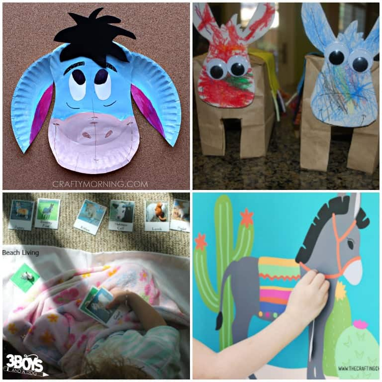 Fun Donkey Crafts and Activities