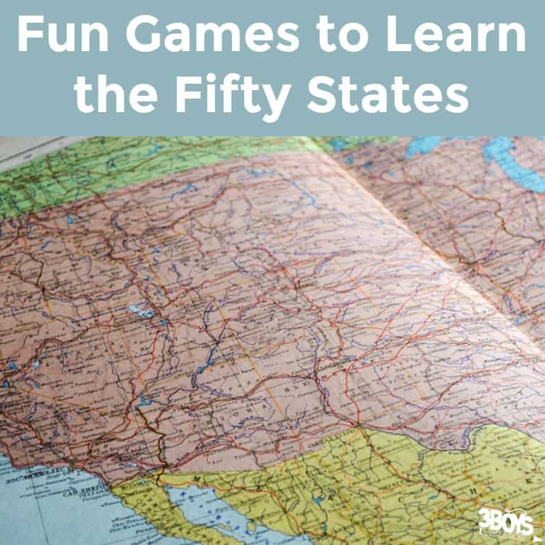 Fun Games to Learn States