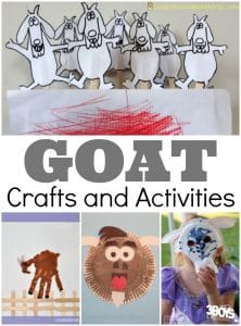 Goat Crafts and Activities for Kids