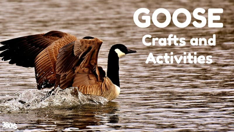 Goose Crafts and Activities to Try