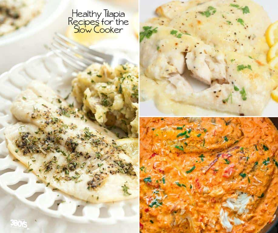 Healthy Tilapia Recipes for the Slow Cooker