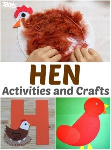 Adorable Hen Crafts and Activities for Kids