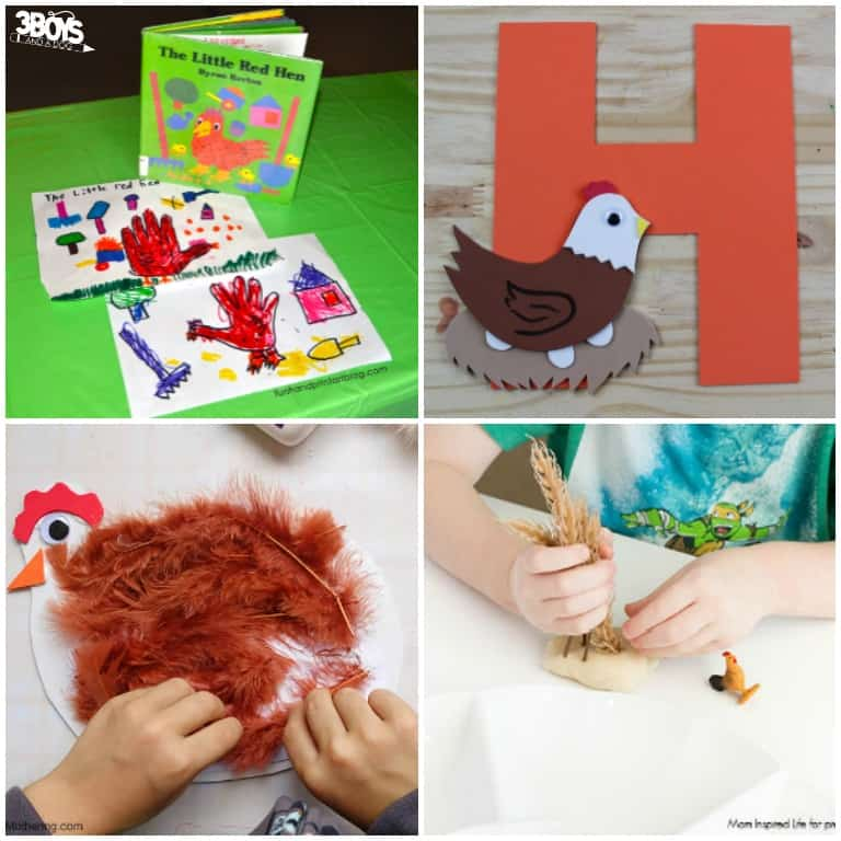 Hen Crafts and Activities to Try