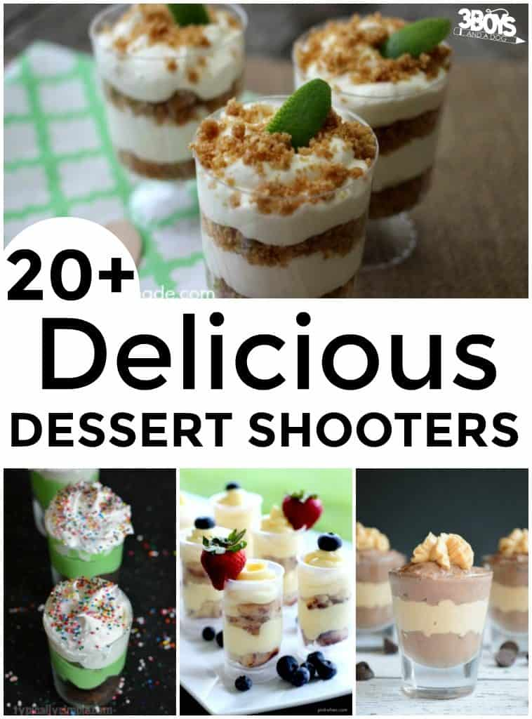 Mini Shooter Dessert Recipes