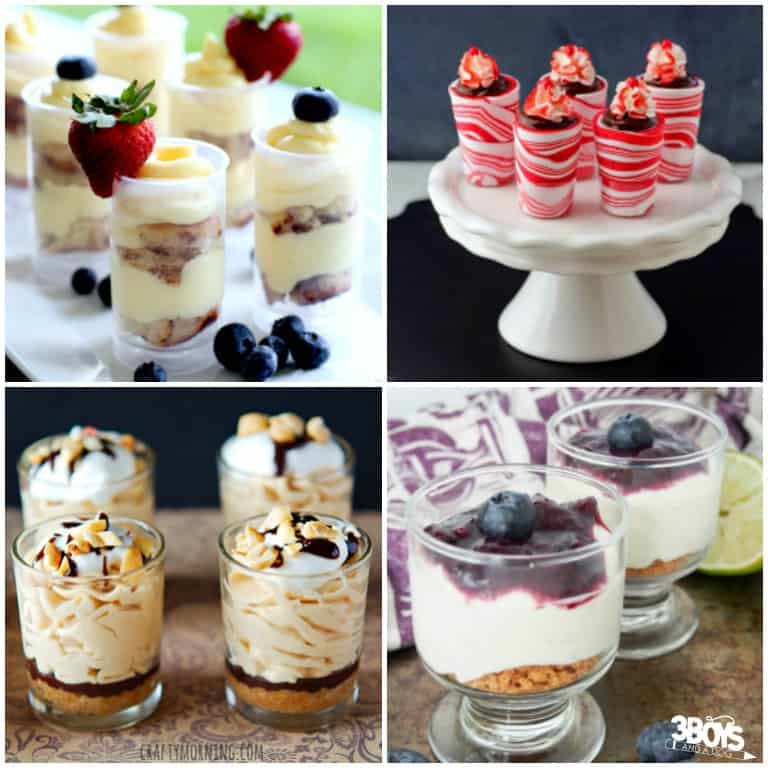 Over 20 Mini Shooter Dessert Recipes to Try