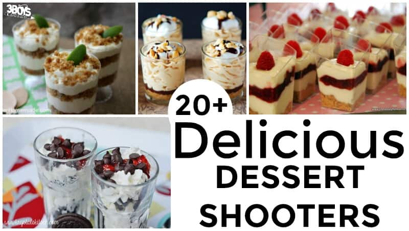 Over 20 Mini Shooter Dessert Recipes