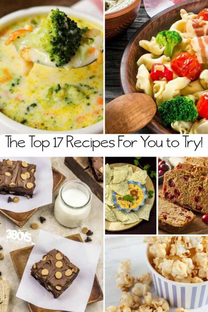 This list ofThe Top 17 Recipes to Try Todayis what all of that digging garnered. These are the most popular recipes on my site from the year 2017!