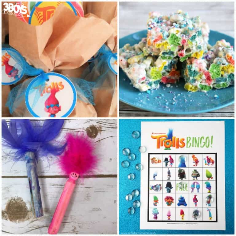 Trolls Party Ideas and Printables for Parties