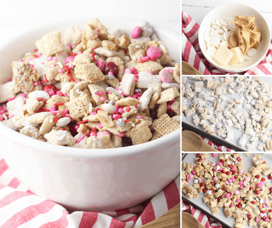 valentines day chex mix recipe with pretzels