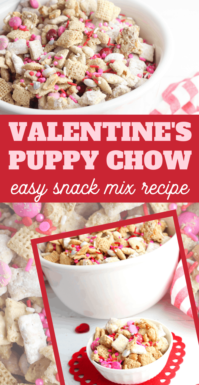 Valentine chex mix Recipe