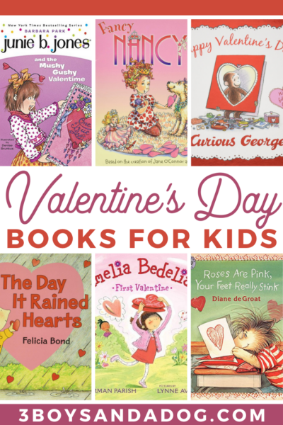 grab some of these Valentines Day books for kids