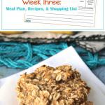 Week Three Menu Planning Resources