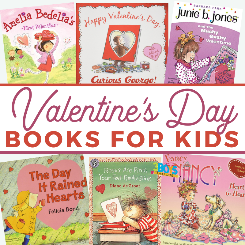 Valentines Day books for kids make learning fun