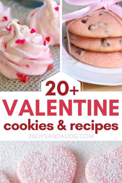 easy cookies for valentines day