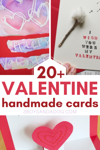 easy handmade cards for valentines day