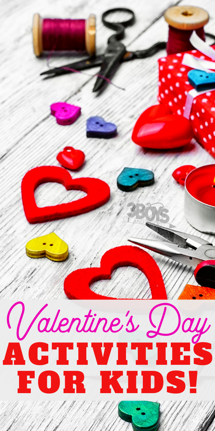 Amazing crafts recipes and printables for children to have fun learning this valentines day