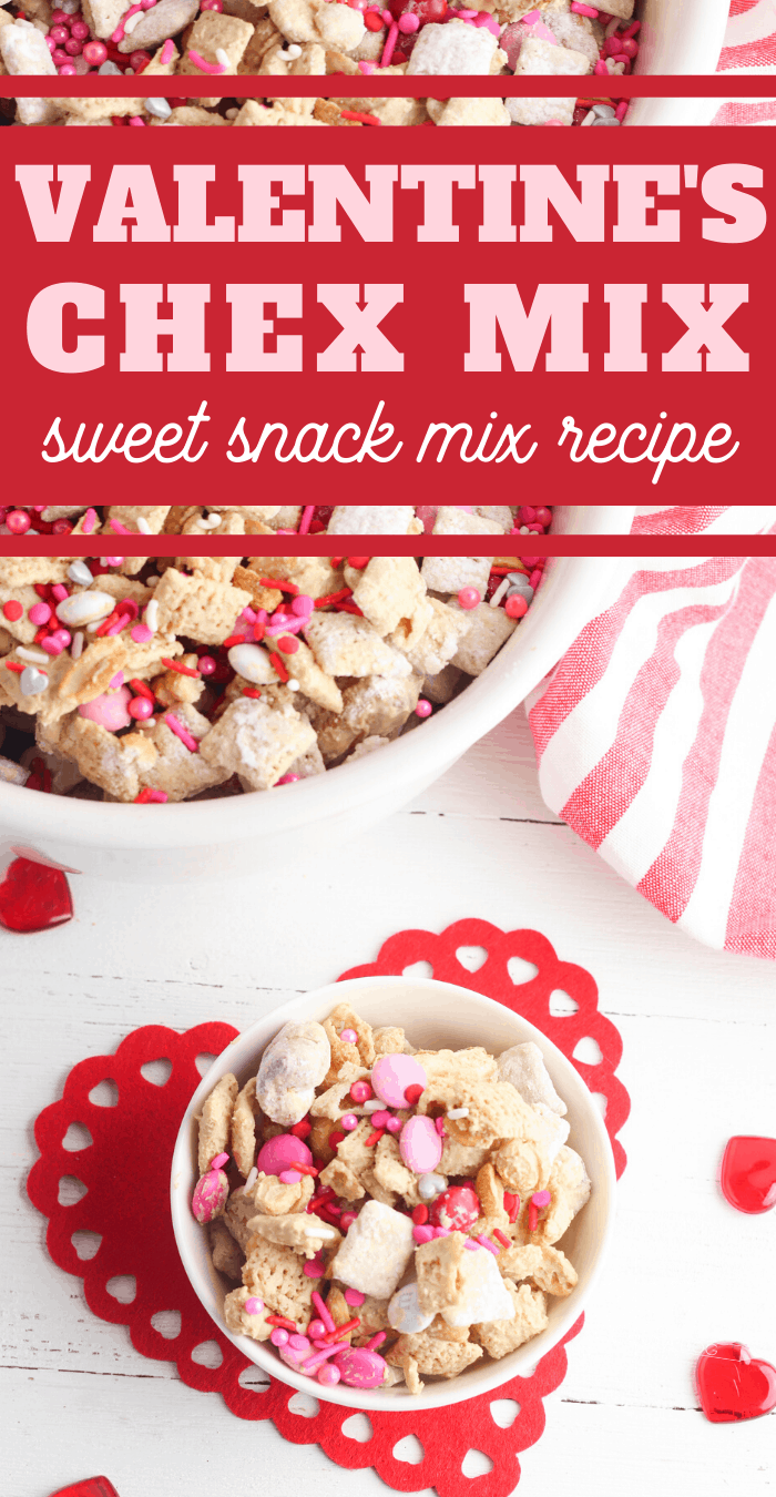 valentines sweet and salty snack mix recipe