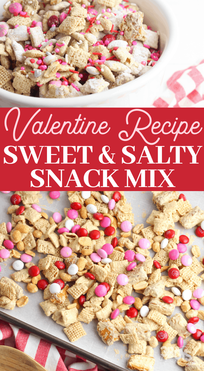 valentine puppy chow recipe