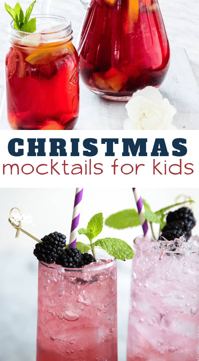 non alcoholic holiday drinks for kids