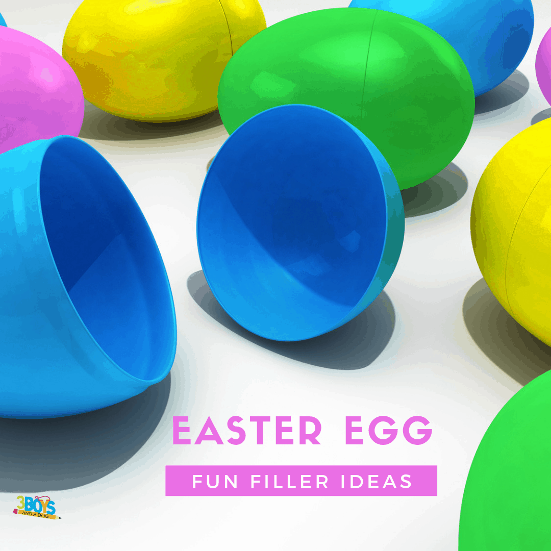 Plastic Easter Eggs Filler Ideas