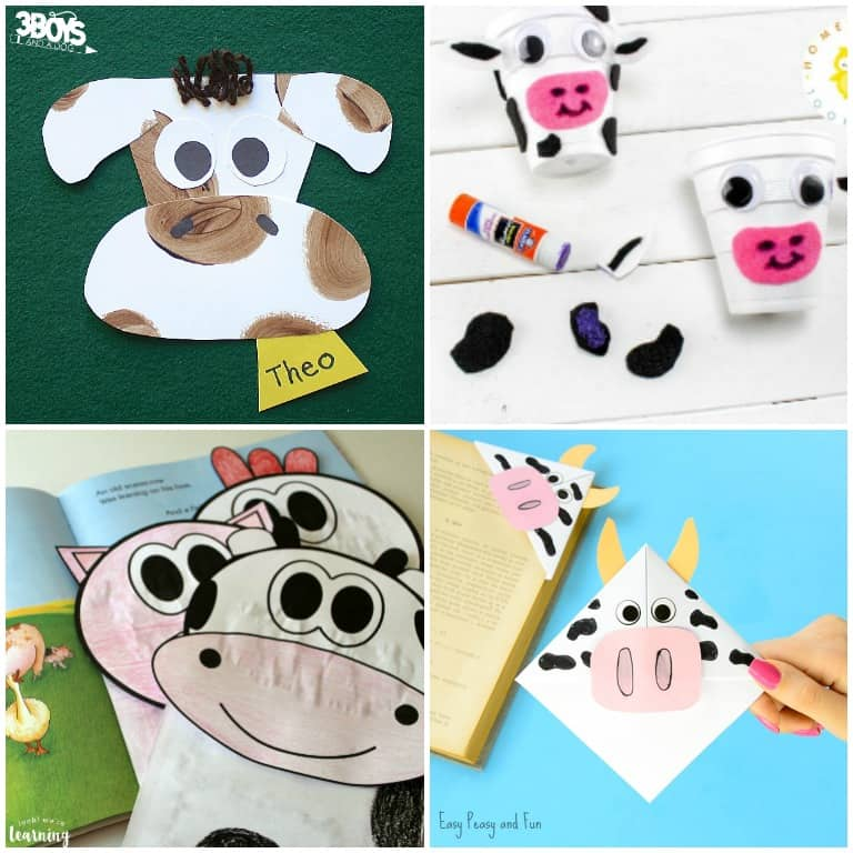 Holstein Cow Crafts and Activities to Try